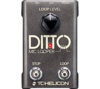 TC-Helicon Ditto Mic Looper, hlasový looper