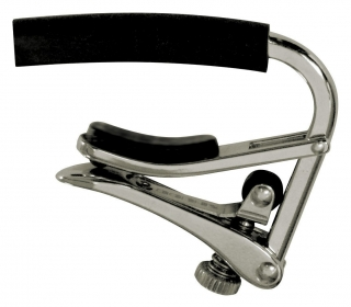 Shubb C4 7,25'' Radius Guitar Capo Polished Nickel