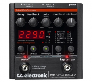 TC Electronic NovaDelay ND1, Stereo delay pedál